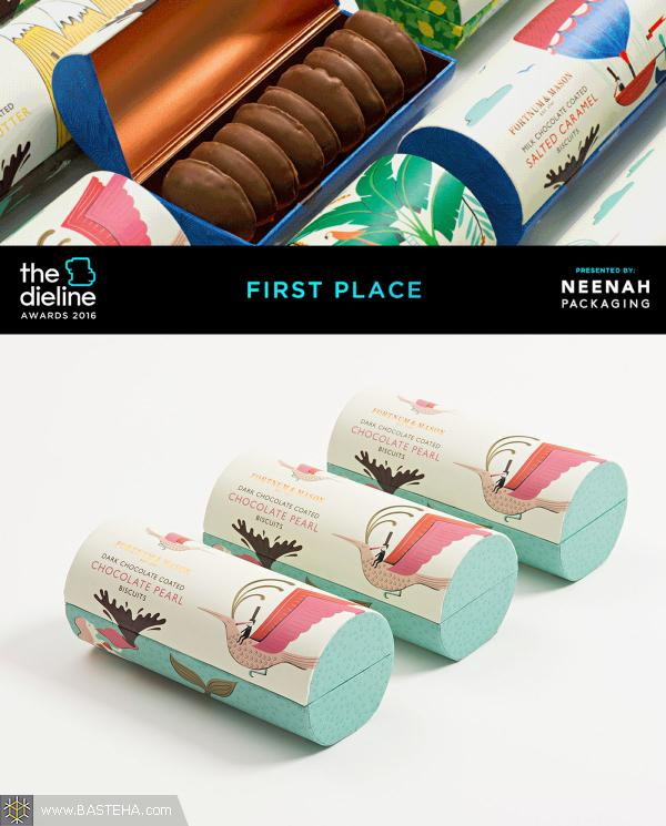 1st Place: Fortnum & Mason- Chocolate Coated Biscuits
